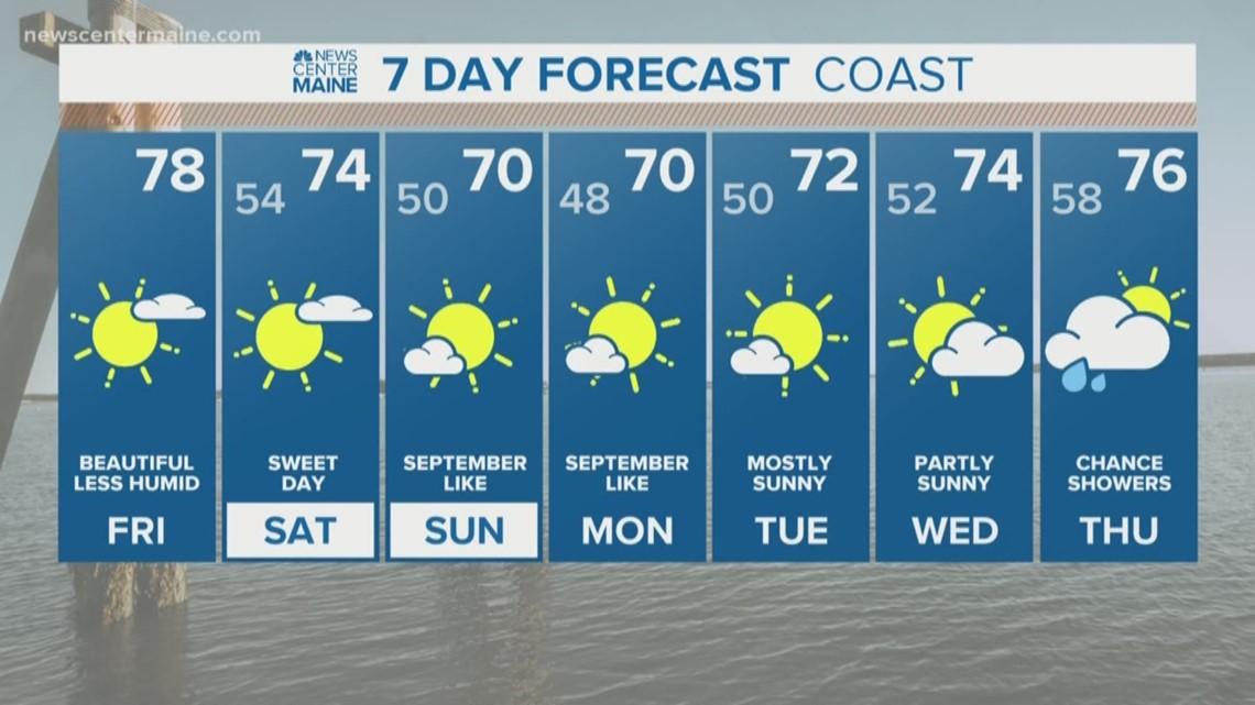 Click for Maine Local Weather Forecast | newscentermaine com