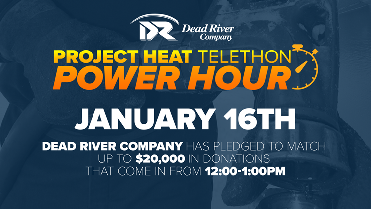Project Heat Power Hour supported by Dead River Company