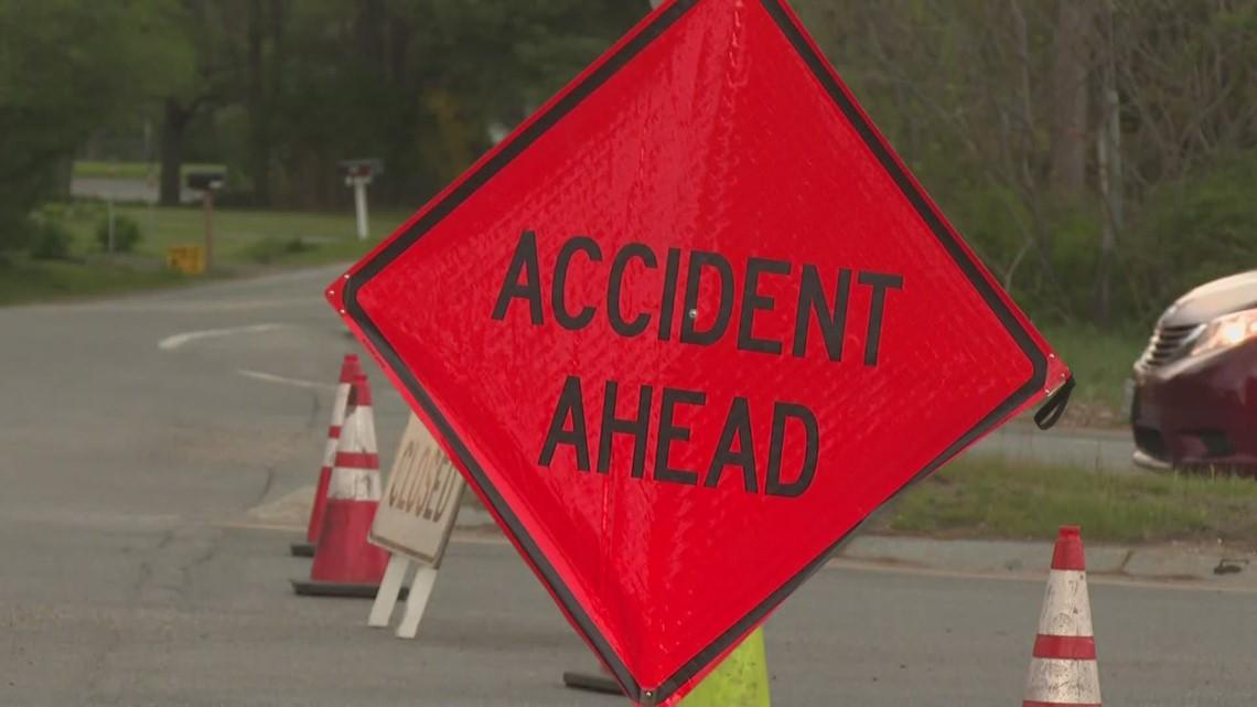 Three people dead after fiery crash in Brunswick