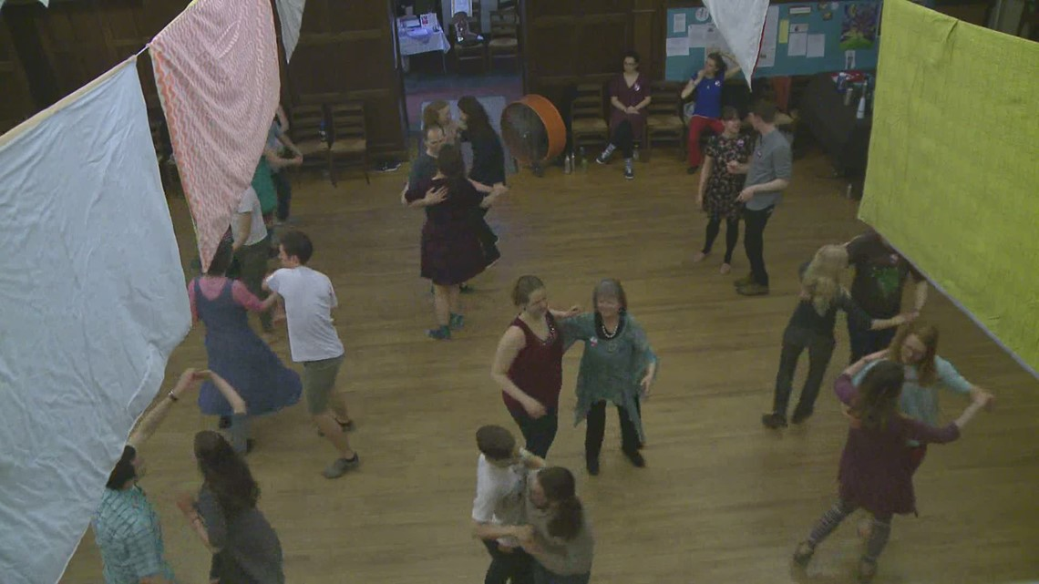 An old tradition attracts new generations of dancers