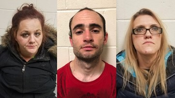 Three people arrested in Lebanon for drug possession