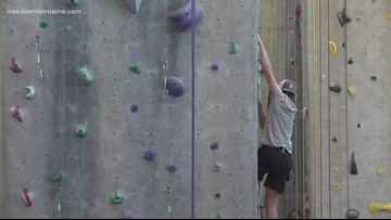 Take the kids to climb rock walls during school vacation