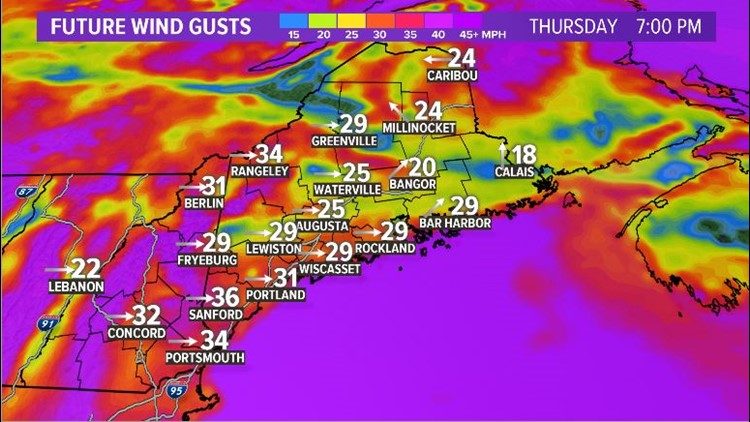 Forecast Gusts
