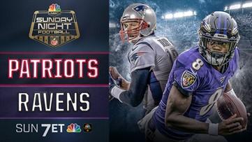 SNF on NCM   Patriots vs Ravens 7PM