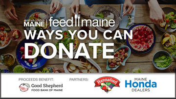 Donate to NEWS CENTER Maine's Feed Maine Project