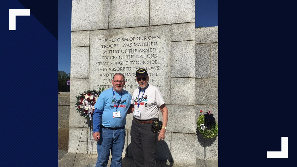 Veterans Return From Honor Flight Maine 2019