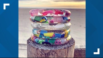 Passion for trashion: Mainer turns beach trash into art you can wear
