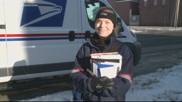 COOL JOBS: This mail-woman knows you by name & even sands your steps