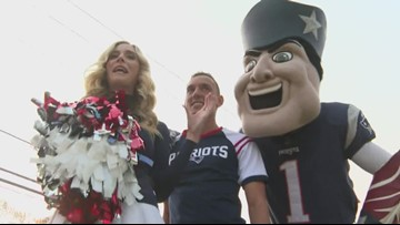 Rumford celebrates Patriots Super Bowl win with parade