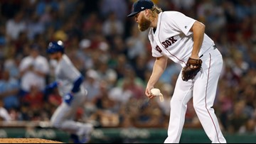 Cashner gets nickeled and dimed in Red Sox debut