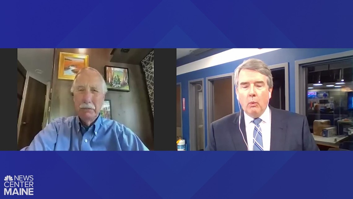 Full Interview: Sen. Angus King talks infrastructure deal with NEWS CENTER Maine's Pat Callaghan