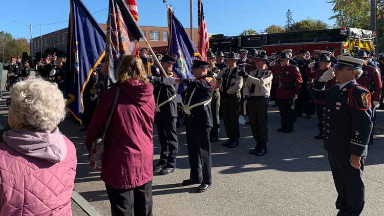 Firefighters show pride at memorial ceremony in the face of so many losses