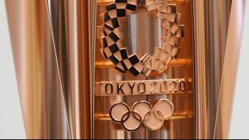 2020 Tokyo Olympics torch design resembles cherry blossom