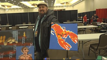 Mainers share their creativity at Bangor Comic and Toy Convention