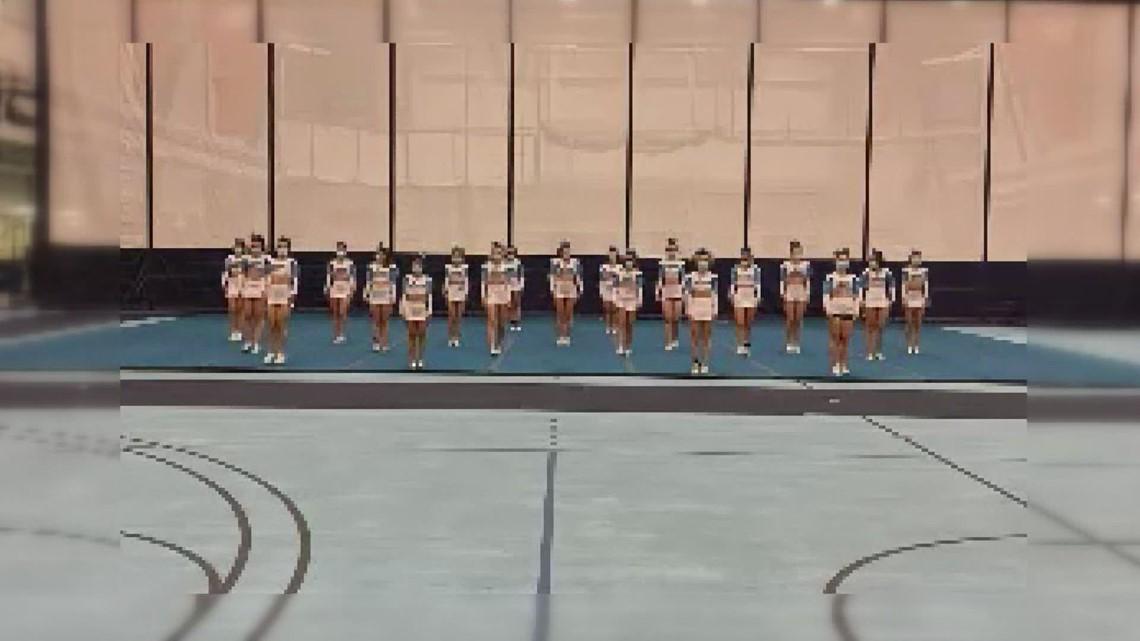 UMaine cheer team wins national championship