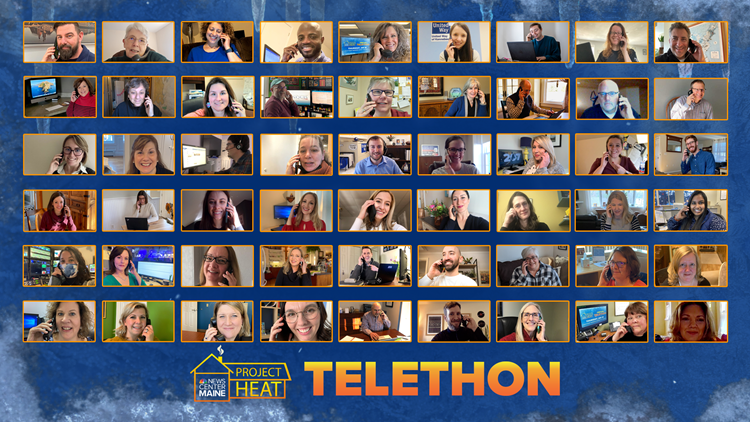 Thank you for keeping Mainers warm this winter by donating to NEWS CENTER Maine's 2021 Project Heat Telethon