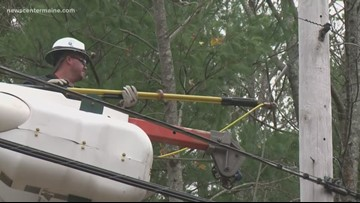 Maine nearly back to full power after nor'easter outages