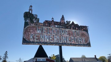 'Welcome to Kennebunkport' sign returns home after being stolen, recovered, restored