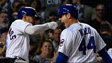 Who needs a healthy ankle? Not Anthony Rizzo