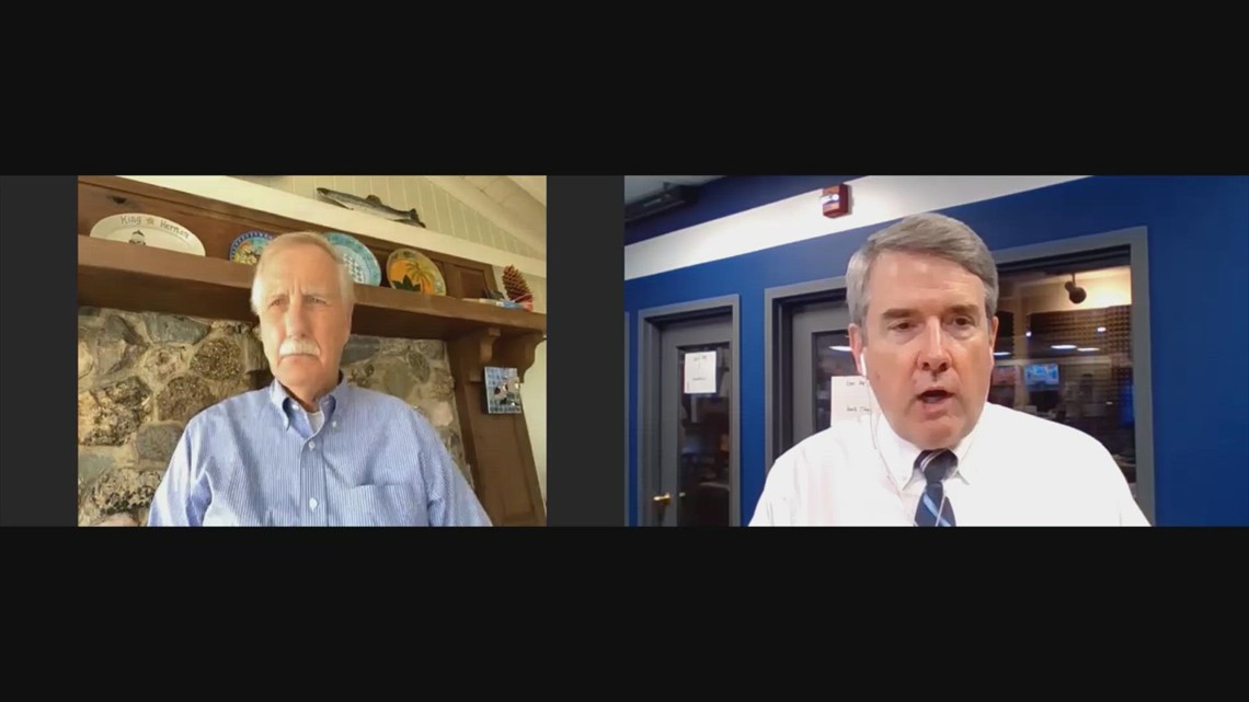UNSCRIPTED | Maine Sen. Angus King talks about COVID-19 symptoms, says vaccination was a 'lifesaver'
