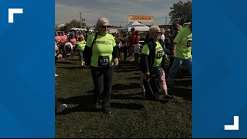 'Fight it. Fight. Say your prayers. You can do it' Cancer survivors walk together
