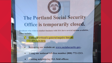 Social Security office in Portland, closed for months, not set to reopen