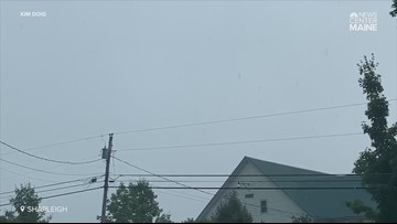 Lightning too close for comfort in Shapleigh