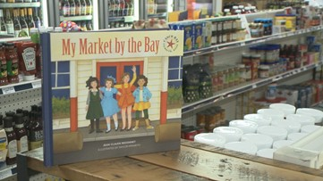 Moments in history at Falmouth market preserved in book
