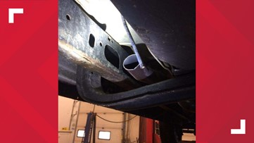 Theft of catalytic converters reported in China, Manchester, and Litchfield