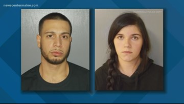 Two people charged after drive by shooting in Waterville