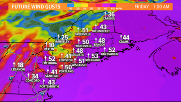 Powerful storm and more power outages for Maine