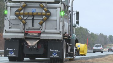 Green is the new orange for Maine plows