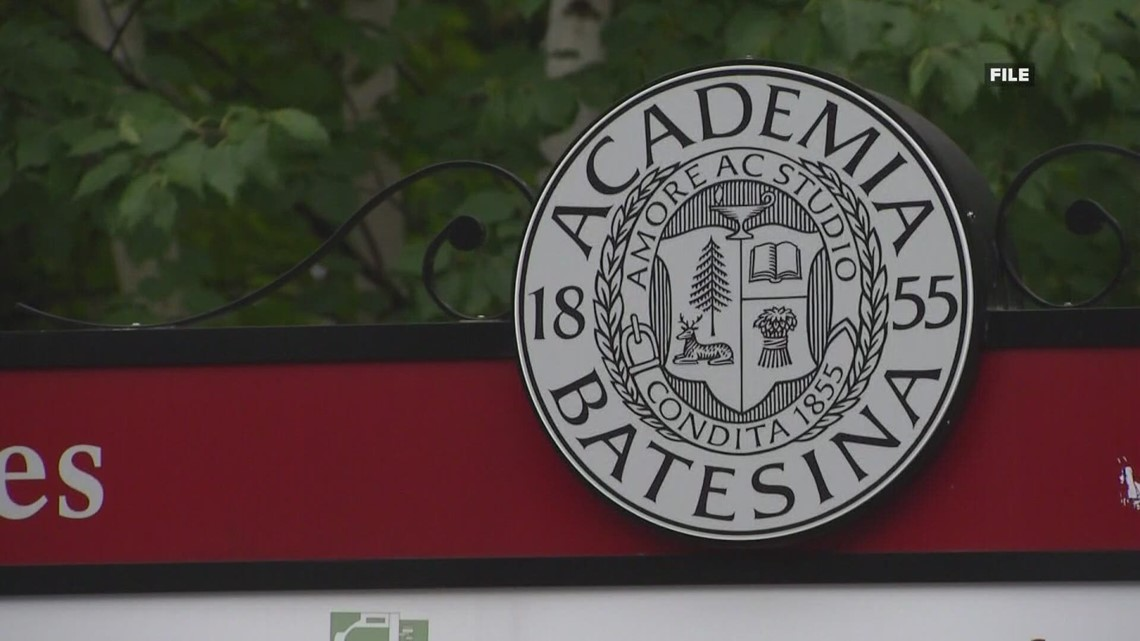 Bates College student lockdown continues