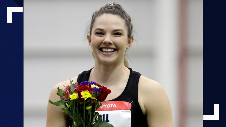 Casco native, USA indoor track champ Kate Hall to be featured in 'Olympic Zone' coverage