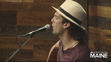 Lucas Roy performs music from his upcoming album in the '207' studio