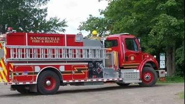 Sangerville firefighter dies in crash