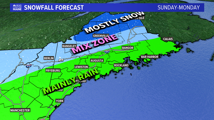 Showers and thunderstorms Friday, another storm in Maine on Sunday