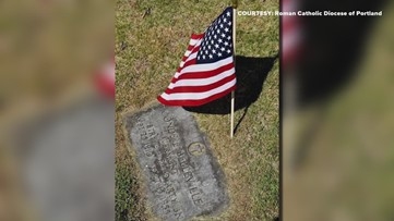Volunteers gather at St. Peter's Cemetery to honor veterans