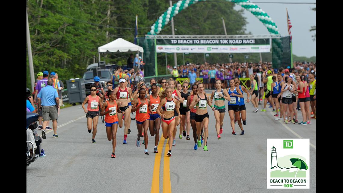 Win a free bib to run in the TD Beach to Beacon 10K Road Race