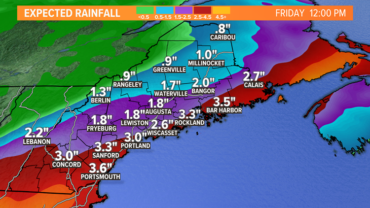 Remnants of Ida to bring drenching rain to Maine