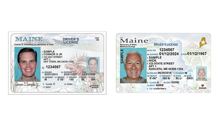 Maine-drivers-licenses-side-by-side