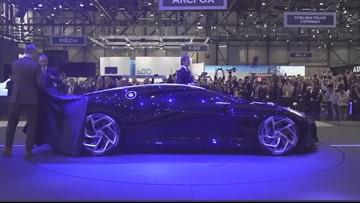 Bugatti unveils world's most expensive car
