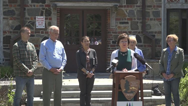 US Secretary of the Interior addresses national park funding, Wabanaki sovereignty in visit to Maine