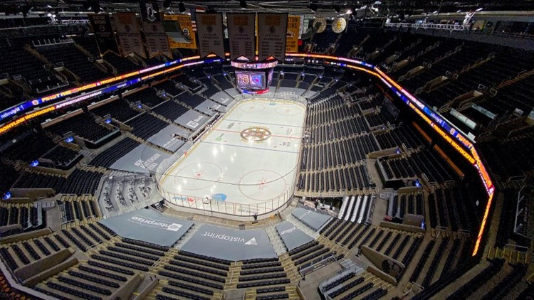 Fans return to TD Garden for first time amid pandemic Thursday