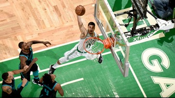 Hornets drop like flies in 32-point loss to Celtics