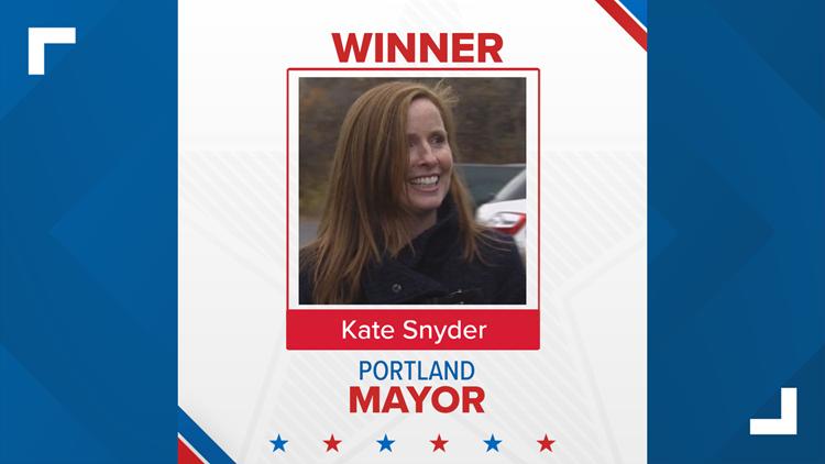 Kate Snyder wins