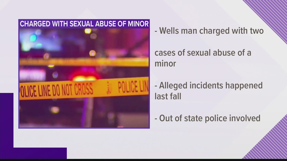 Man charged with sexual abuse of a minor
