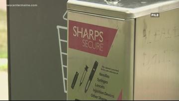 Lewiston to install 'safe syringe disposal' drop box sites