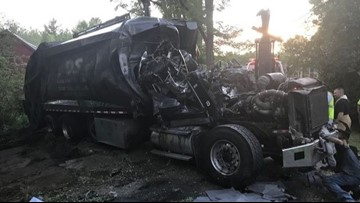 1 killed, another injured in Stoneham garbage truck rollover