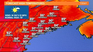 Summer sizzle: Highs around 90 for the 4th | Breton Blog